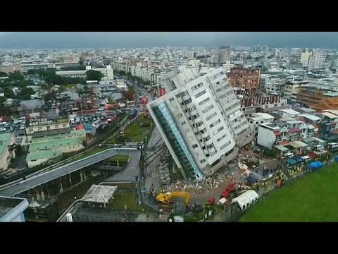 Taiwan quake death toll rises to 17