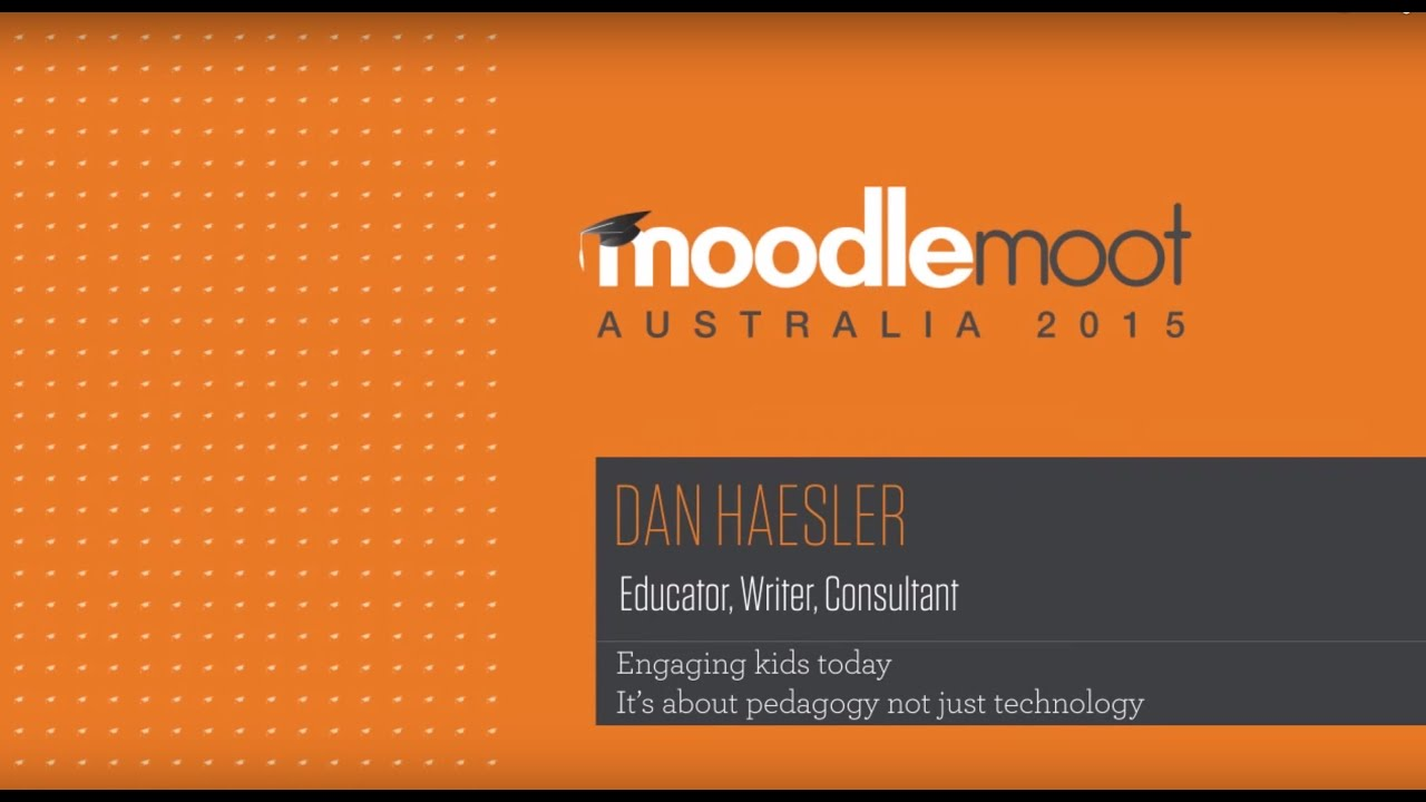 Engaging Kids Today - It's about Pedagogy, not just Technology by Dan Haesler