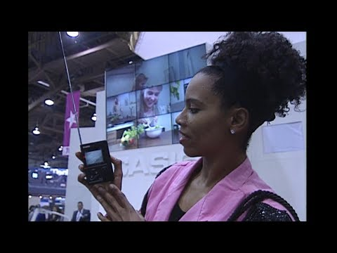 News 8 attends the Consumer Electronic Show (CES) in 1992