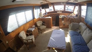 Kha Shing 50 Motor Yacht Interior Tour By South Mountain Yachts