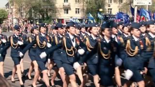Случай на параде   в г. Рязани