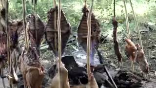 Mamona o Ternera a la Llanera - Comida colombiana