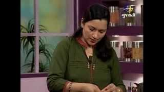 Rasoi Show - Orange Paiya, Orange Salsa With Corn Pancake, Orange Fried Rice And Orange Curd Tart