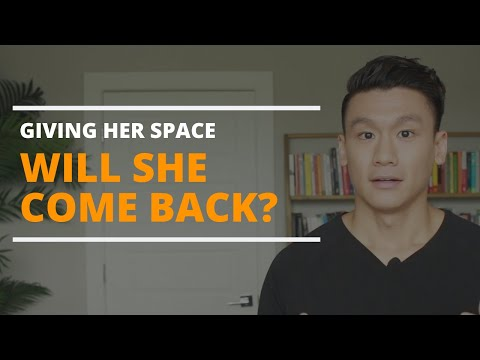 When Giving Her Space in a Relationship: HOW LONG Before Relationship is Restored?