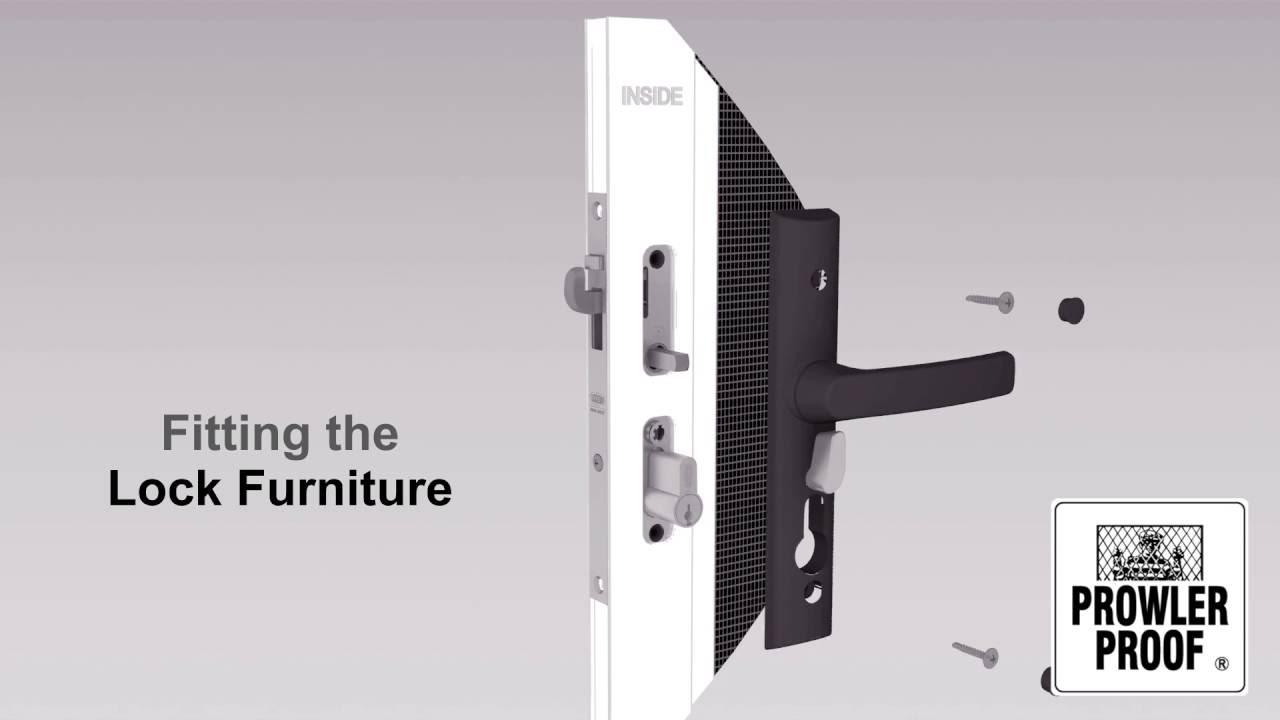 Prowler Proof Hinge Door Furniture Assembly Installation Video