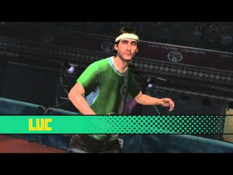 Rockstar Table Tennis Gameplay