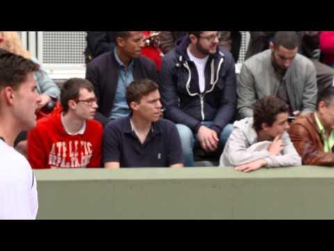 Roland Garros 2014 Murray Thiem Practice