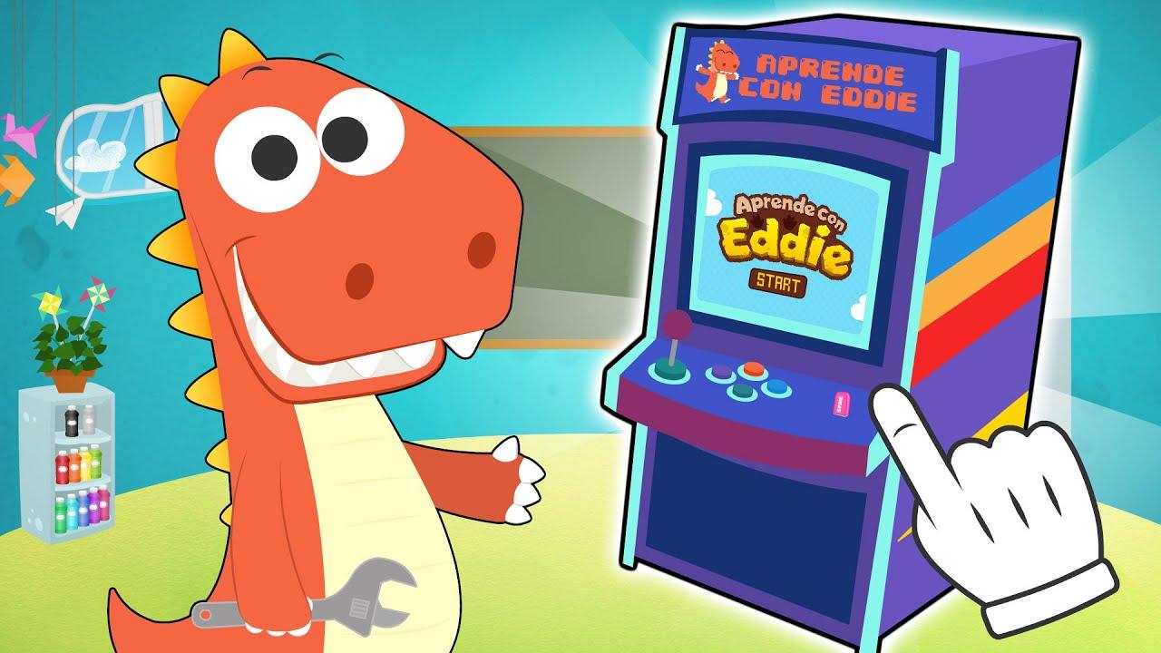 Aprende con Eddie  🎮🕹️ a crear Videojuegos para una Máquina Recreativa