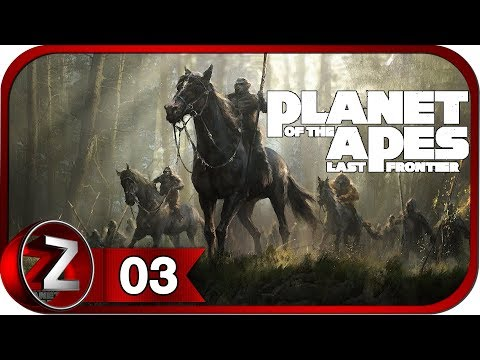 Планета обезьян: последний рубеж Прохождение на русском #3 - Столкновение миров [FullHD|PC]