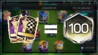 *Станах 100 OVR* и пакнах 2 Мастъра !!! - FIFA Mobile 18