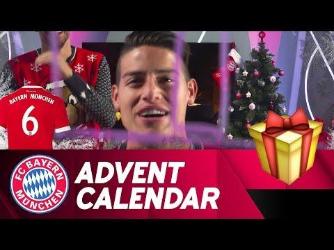 Drawing w/ James Rodríguez   FC Bayern Xmas Advent Calendar #6