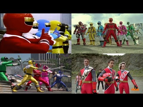 Power Rangers Final Battles | Mighty Morphin Alien Rangers - Power Rangers Ninja Steel | Superheroes