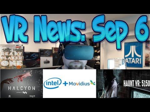 VR News: Sep 6 - My Childhood Nightmare in VR!? -  Intel AR/VR Acquisition - VR Ready SyFY & More!