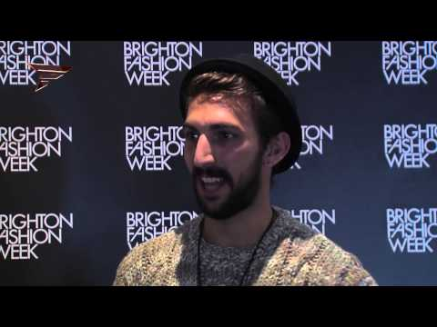 Backstage PAUL PEREZ  Brighton Fashion Week 2014 94525 NMNB