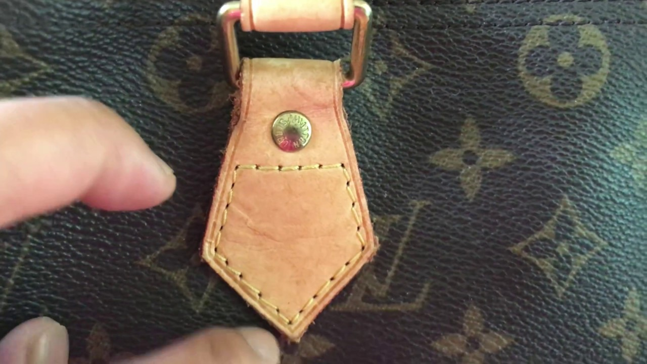 87a0bf9b2d6f How to SPOT an AUTHENTIC LOUIS VUITTON SPEEDY 30 HANDBAG and WHERE ...