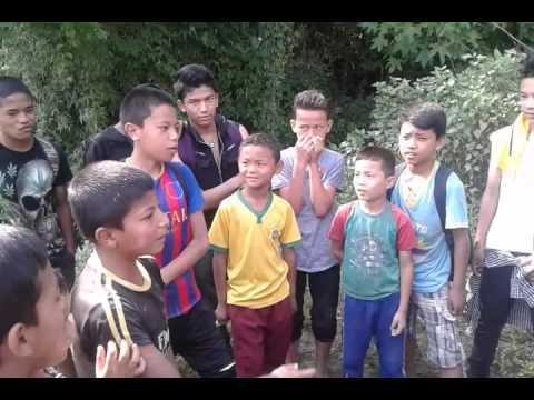 Relax tole child doing rap battle parody