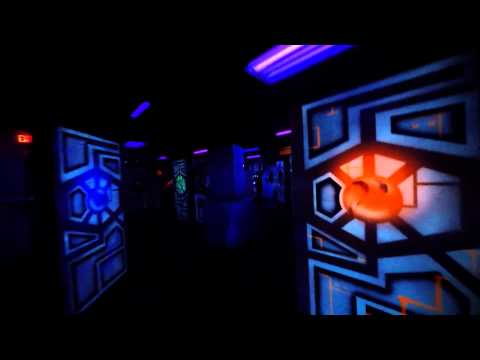 Meghan's View of Laser Tag night (Go Pro 4)