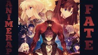 AnimeRap ft. Кинай – Реп про аниме Судьба: Ночь схватки   Fate/Stay Night   2018  