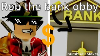 Rob the Bank avec Jos-V /Roblox/