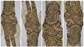 Easy Dulhan Mehandi Design Full Hand | New Wedding Mehandi Design | Simple Heena Designs