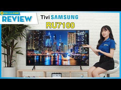 Tivi Samsung RU7100: Chất Lượng Nhiều Mặt, Giá Vừa Phải (UA55RU7100) • Điện Máy XANH