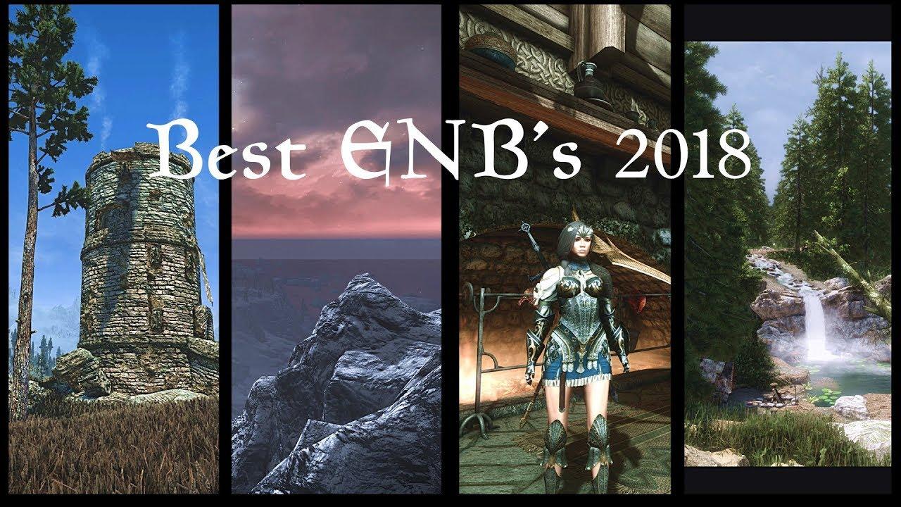 Skyrim SE: 4K ENB Comparison for Obsidian weather | Best ENB's 2018