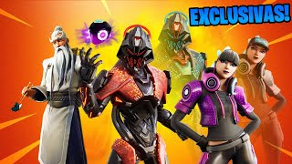 ALL *SKINS FILTRATED* FROM FORTNITE 10.10 UPDATE!! 😱💥