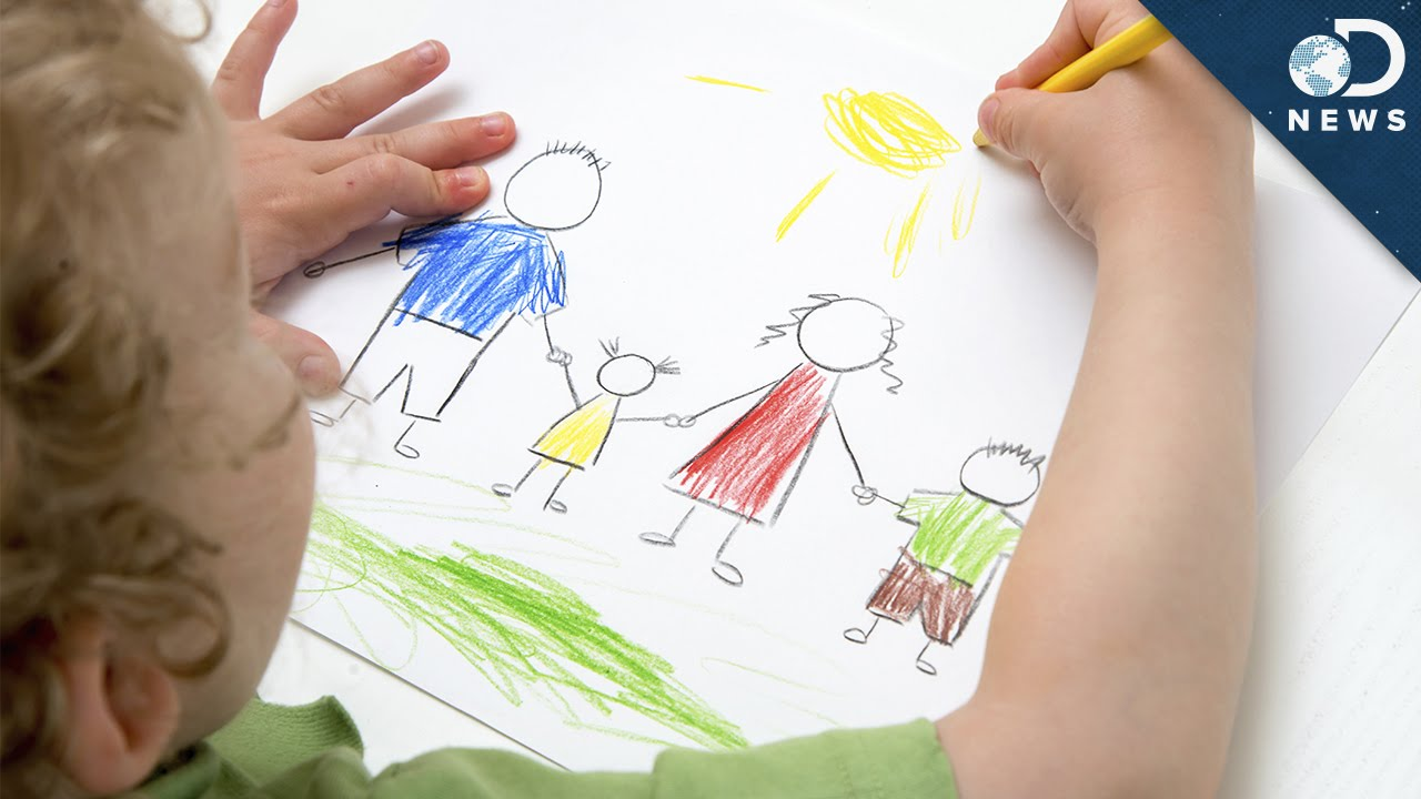 Kids Who Draw Well Are Geniuses!