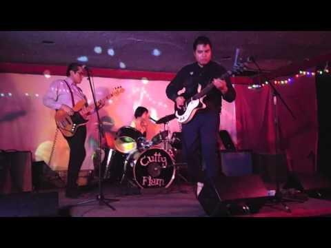 Misirlou cover by Cutty Flam, Cafe Nela 1-30-16