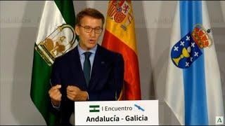 Feijóo pide al Gobierno que corrija el déficit del actual modelo de financiación