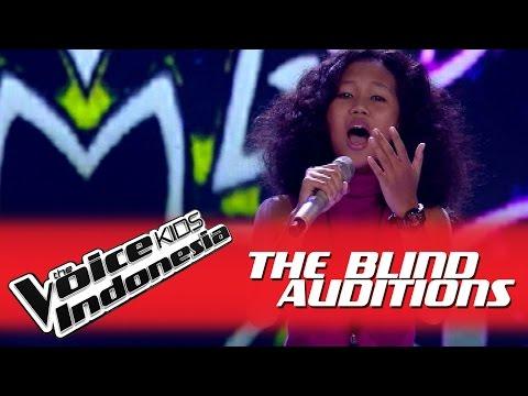 "Kauzar ""Bunga Terakhir"" I The Blind Auditions I The Voice Kids Indonesia GlobalTV 2016"