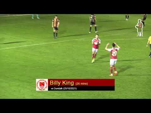 Goal: Billy King (vs Dundalk 25/10/2021)