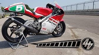 Riding an Icon: Yamaha TZ250
