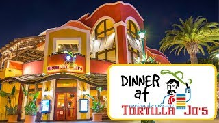 Tortilla Jo's Downtown Disney Restaurant Review