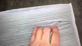 2014 Nissan Altima Sedan - Checking Hvac Cabin Air Filter Element - Cleaning & Replacing