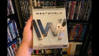 Westworld: Season 2 - The Door 4K BLU RAY REVIEW + Unboxing