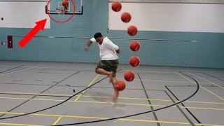 Crazy basketball trick shots!!!
