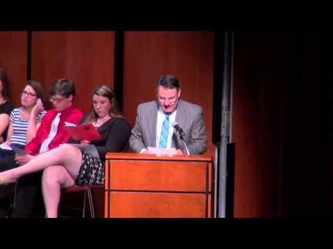 Lincoln High School Scholarship Night 5-20-15
