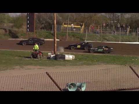 Genesee Speedway Mini Stock Heat One 5-12-18