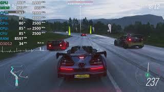 AMD Ryzen 3 2200U Review - Forza Horizon 4 - Gameplay Benchmark Test
