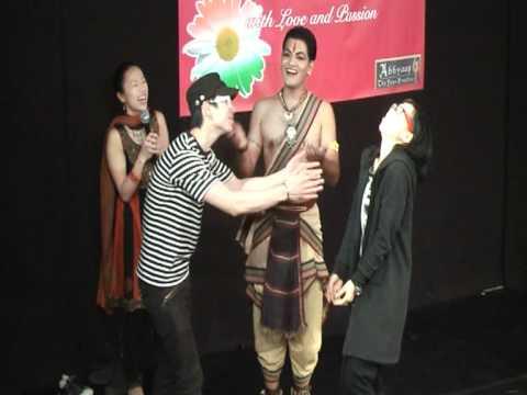 Pramod Teaching Indian Classical Dance in HK
