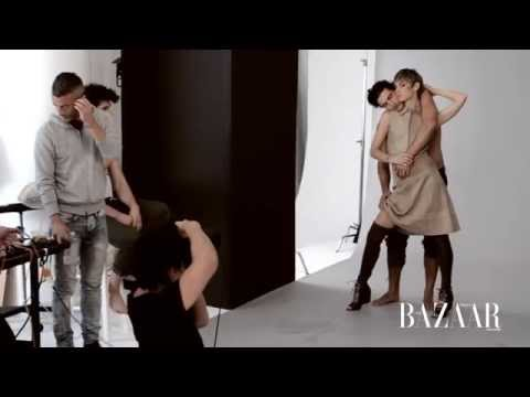Behind-The-Scenes: May 2015 Cover Shoot with Angela Lindvall