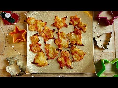 mini---pizzas-de-noël-||-recette-facile-et-rapide-avec-la-pâte-feuilletée