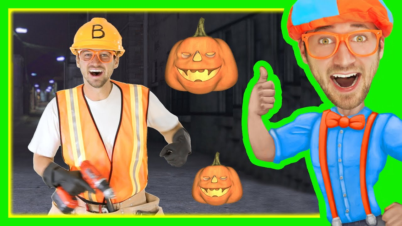Halloween Of Halloween.Halloween Songs For Kids With Blippi Trick Or Treat Nursery Rhyme