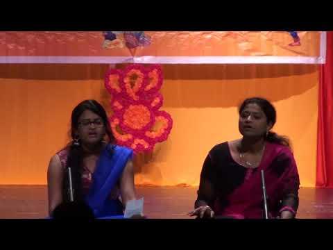 Jyothi & Deshika TASF Annamaya keerthanas April 2018