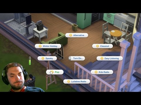 Sims 4 #7 Finally music in game!!!! |