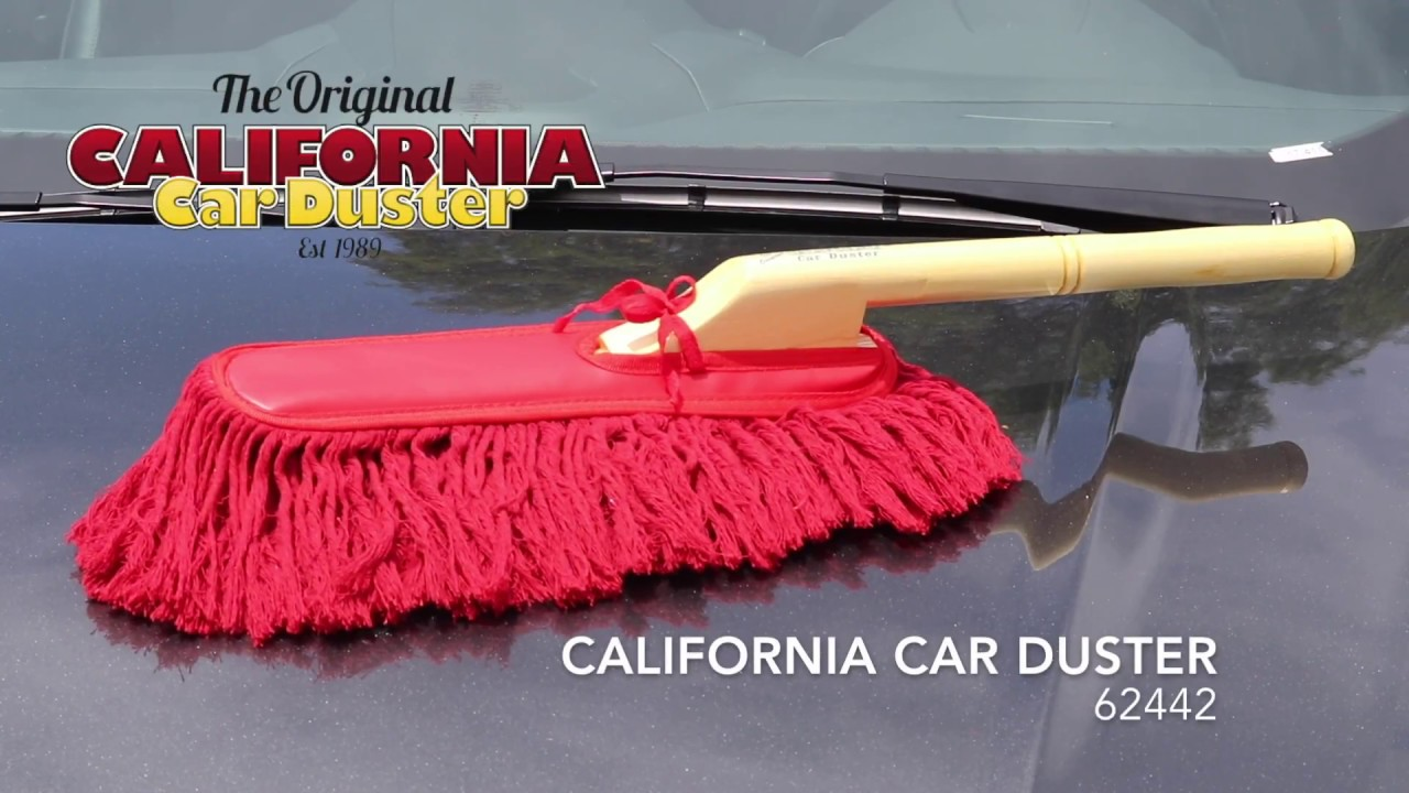 the california car duster 62442 original style with wood. Black Bedroom Furniture Sets. Home Design Ideas