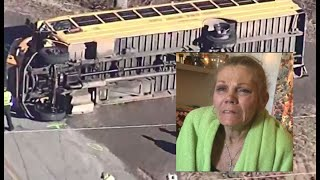 RAW VIDEO: Woman charged in NC school bus crash speaks out