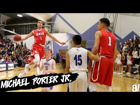 Michael Porter Jr. Early Season Highlights!  DESTROYING The Competition