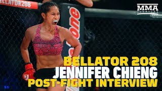 Bellator 208: Jennifer Chieng on Transition From Wall Street Job to Olympics to MMA - MMA Fighting